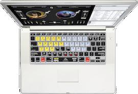 djay Keyboard Cover for original MacBook Pro