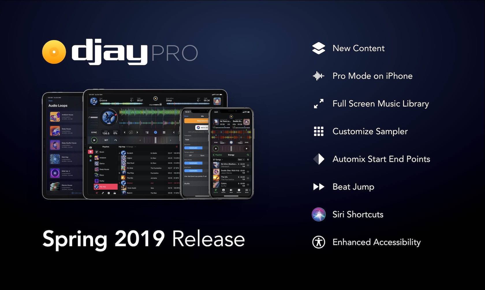 djay iOS version 3.1