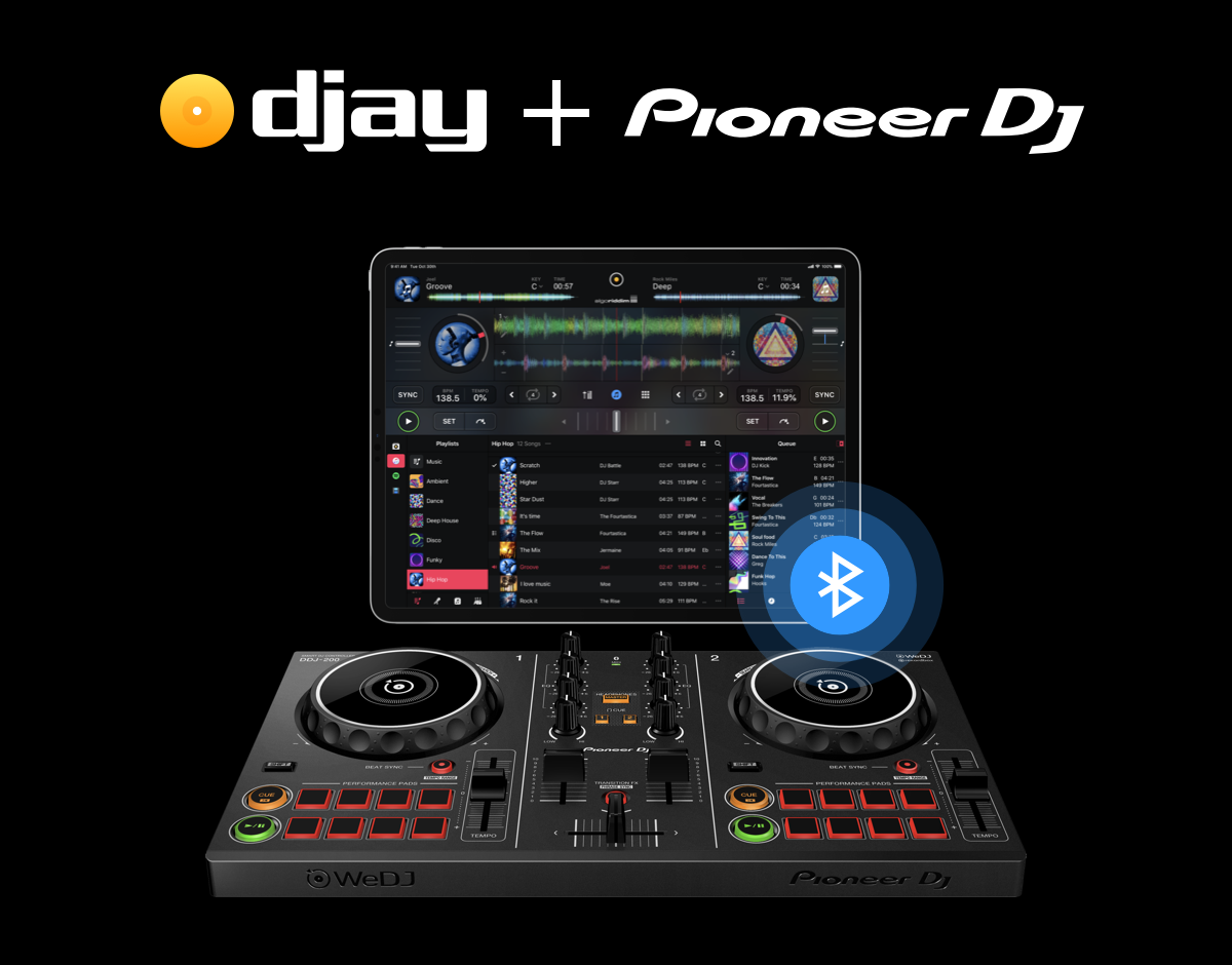 Dj controller compatible with djay pro 2