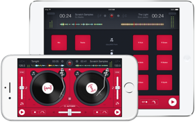 (djay)RED for iPad and iPhone